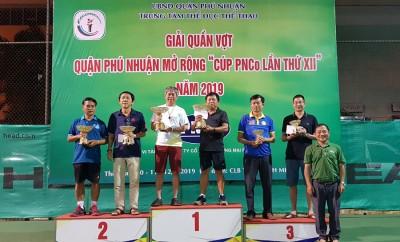 Giải quần vợt quận Phú Nhuận - Cúp PNCo lần thứ 12 năm 2019