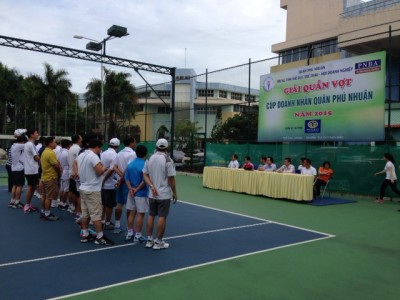 Giải quần vợt chào mừng kỷ niệm Ngày Doanh nhân Việt Nam 13/10 Năm 2015