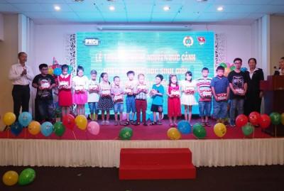 Quốc tế thiếu nhi 2016 va lễ trao học bổng Nguyễn Đức Cảnh 2016