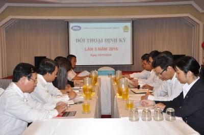 Tổ chức đối thoại định kỳ lần 3/2015